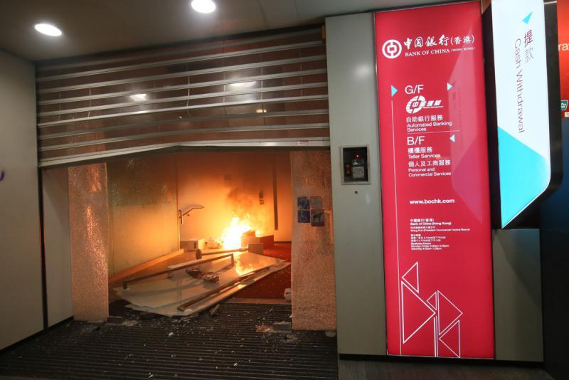 王志民仇鸿慰问受暴力冲击驻港中资企业