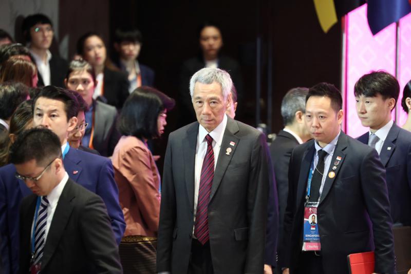 """?李顯龍:香港須在""""一國兩制""""框架下尋解法"""