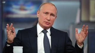 普京高度评价俄战备水平和反恐情报工作