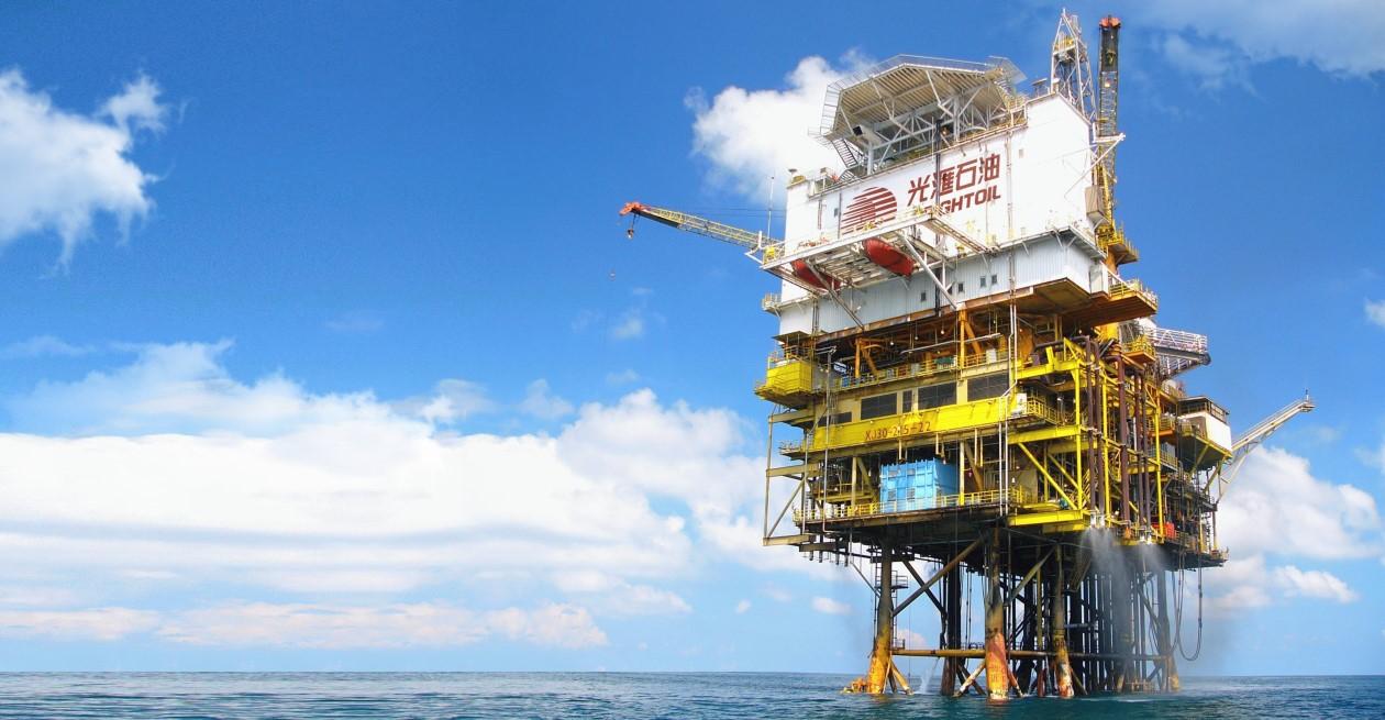 光汇云油母公司曹妃甸油田新井顺利投产,日产油量实现翻倍增长
