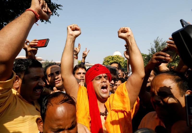 结束70年土地权争议 印度圣地判予印度教徒