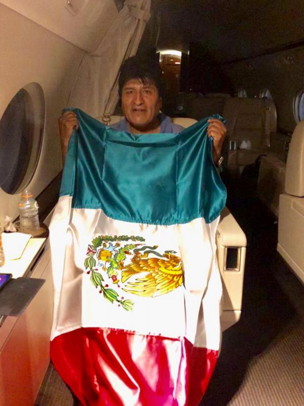 ?莫拉莱斯流亡墨西哥 多国声援