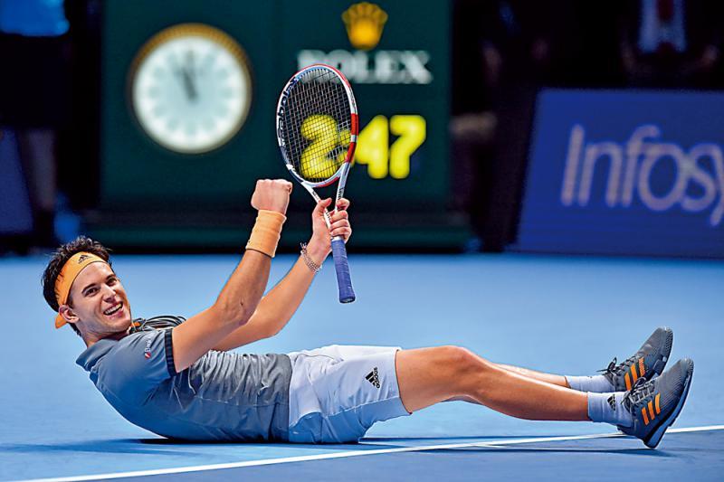 ?网球总决赛\泰姆反胜祖高域率先晋四强