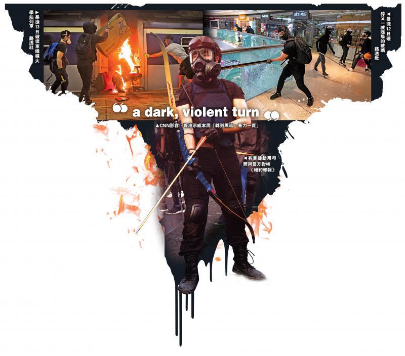 ?忧暴力升级遭反噬 西方媒体转口风