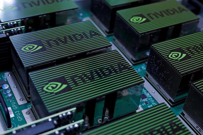 ?美晶片商Nvidia少赚27% 股价插3.4%