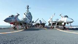 ?海军证国产航母穿越台海 赴南海例训