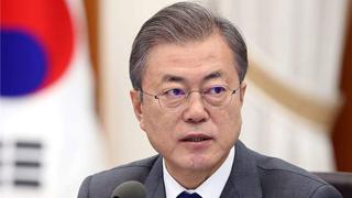 韓國總統文在寅:將努力避免廢棄韓日軍情協定