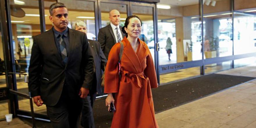 華為促加法院中止引渡孟晚舟到美國程序