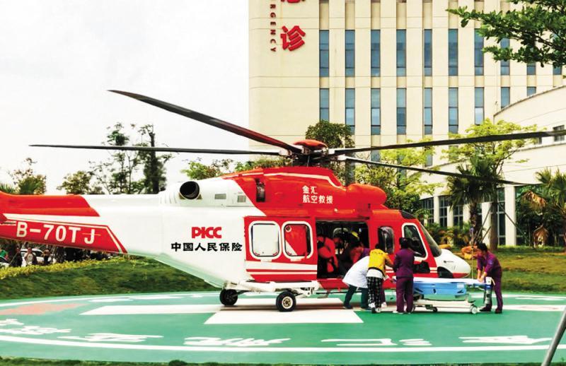 ?深圳推直升机急救服务 每航时收费5万