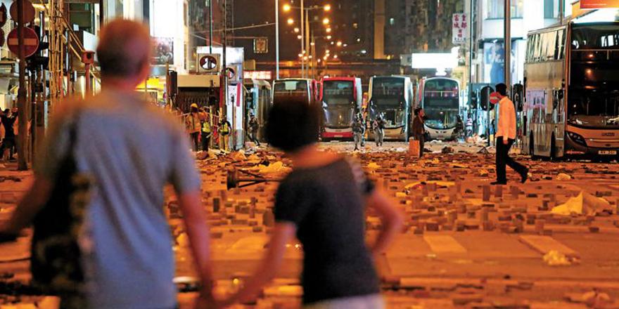 止暴制乱,救香港,护家园,一票都不能少!