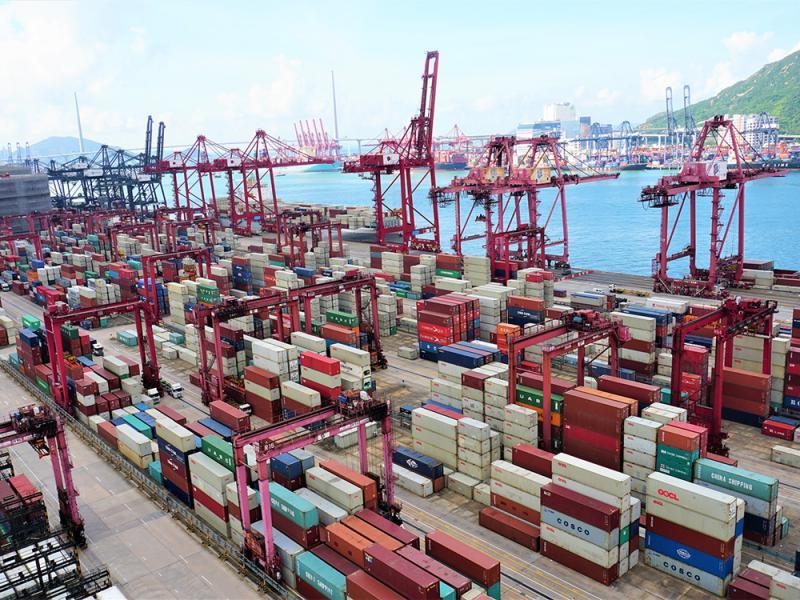 ?贸战拖累 港出口连跌12个月