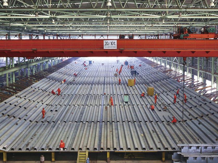 王超英《港珠澳大桥在中山建造钢构工程》