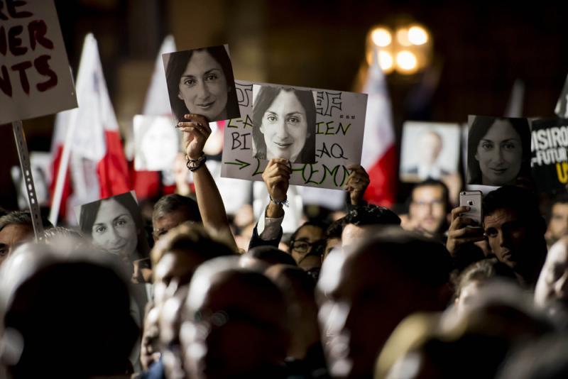 ?記者遇害案引爆抗議 馬耳他總理請辭