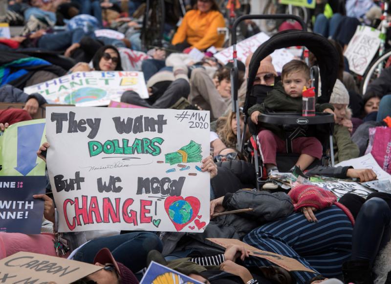 ?報告:氣候災害十年致兩千萬人流離失所