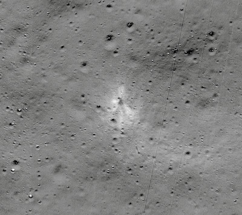 ?外行助定位 NASA找到印登月車殘骸