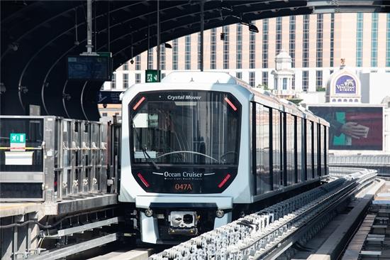 澳門首條輕軌線下周二開通 年底前免費乘坐