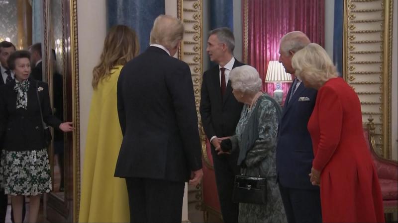 ?安妮公主疑拒向特朗普夫婦問好