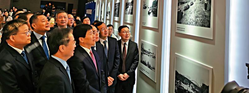 京杭双城合作 大运河文化对话