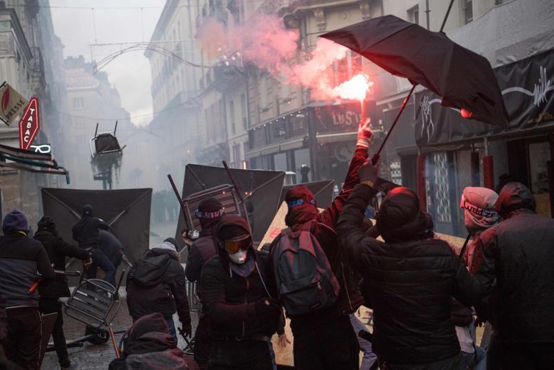 ?法三大铁路工会拒让步 今扩大罢工规模