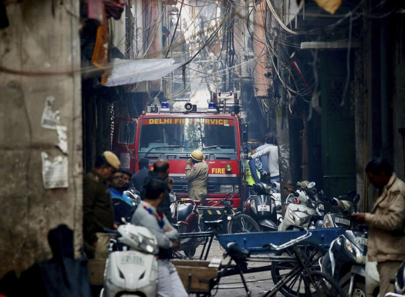 ?印工廠遇惡火至少43死逾50傷