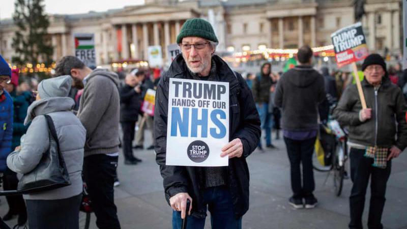 ?英大选逼近 民众关心医疗胜过脱欧
