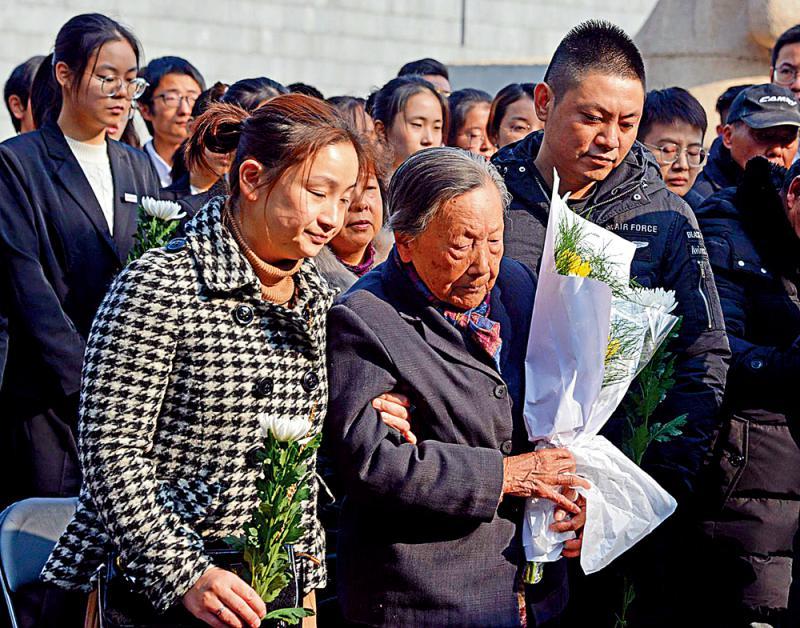 ?纪念南京大屠杀82周年\见证者终老去 南京屠杀真相不灭