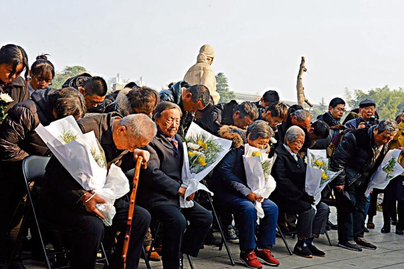 ?呼籲日本政府道歉承认罪行