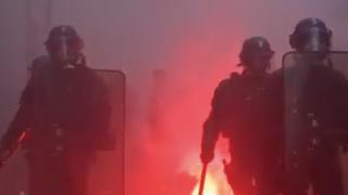 法国大罢工致巴黎公共交通几乎全面瘫痪 全国90%高铁停驶