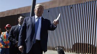 美国得州联邦法官禁止特朗普用军费建墙