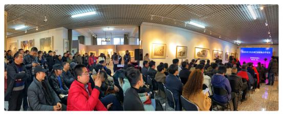 百家历史文化名城艺创基地合作论坛在宋庄举办