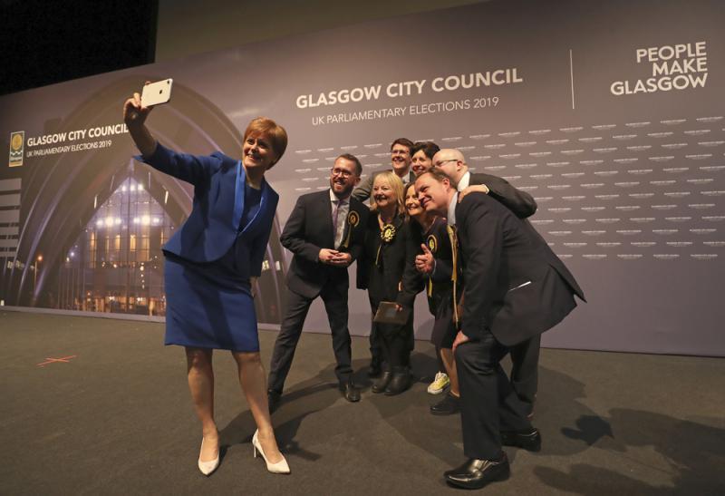 苏格兰民族党大胜 再提独立公投
