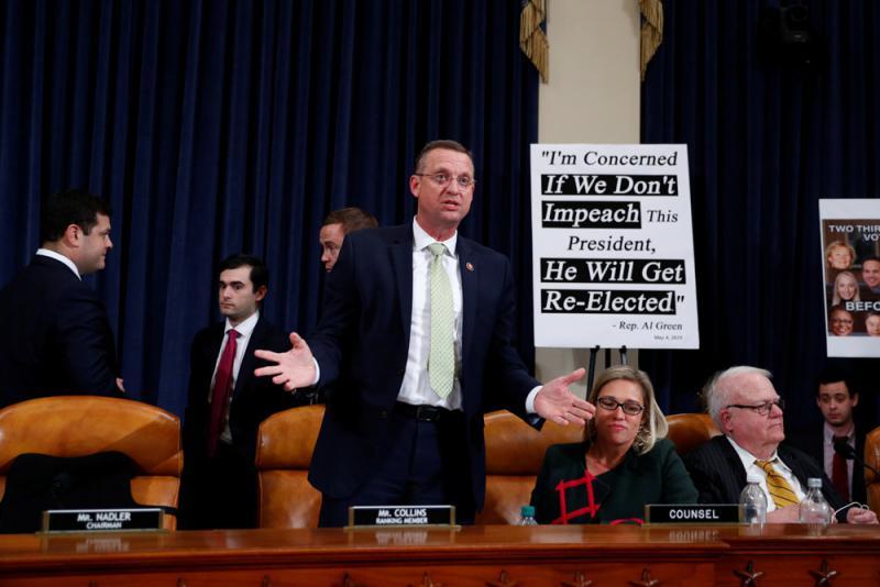 美众院司法委员会通过:弹劾特朗普