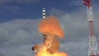 """俄新型""""萨尔马特""""洲际弹道导弹射程达1.7万公里"""