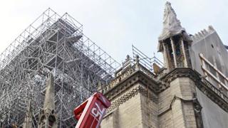 巴黎圣母院取消子夜弥撒 200年来首次