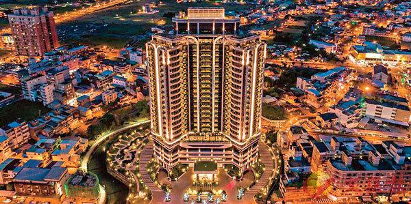 ■村卻國際溫泉酒店外貌