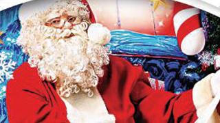 """?美零售不景气 """"圣诞老人""""变穷"""