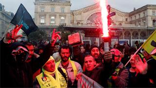 ?法罷工毀圣誕假期 打擊經濟惹民怨