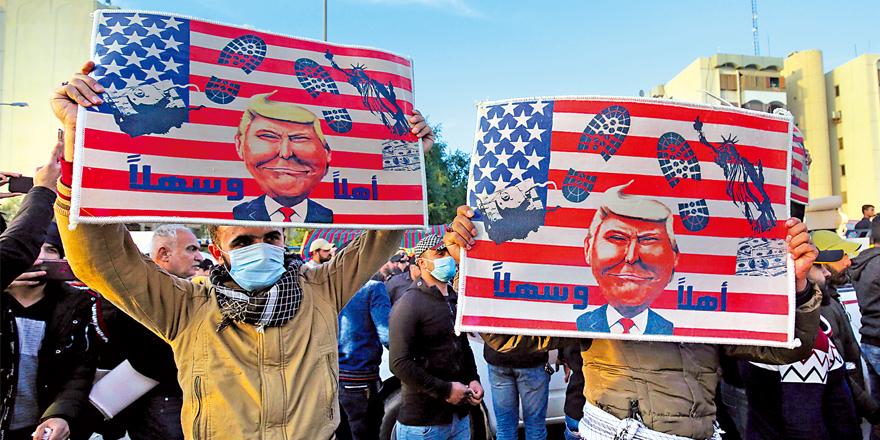 伊拉克示威者要求華府撤軍 多地現反美游行