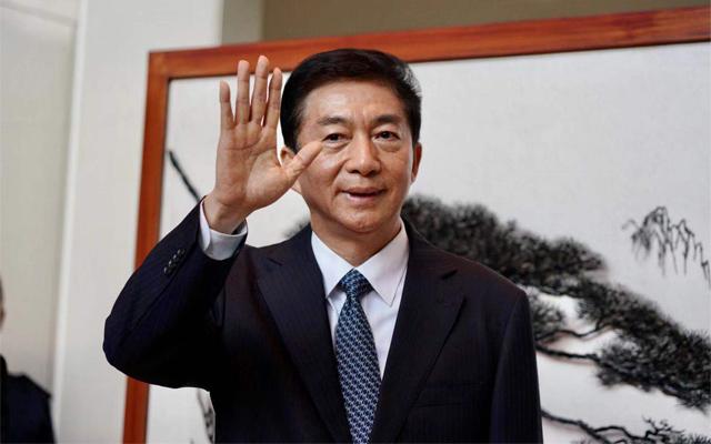 骆惠宁:祖国是香港强大后盾 对未来充满信心