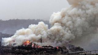 ?澳洲小雨山火稍缓 空气污染爆灯