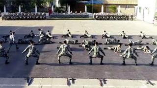 ?駐港部隊新年開訓 實戰化演練