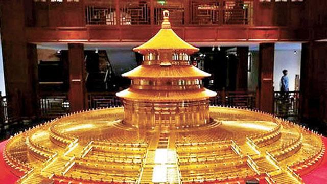 橫琴展出故宮館藏文物 多維呈現皇族傢具端莊神韻