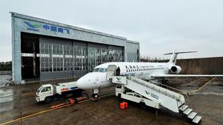 中国国产喷气支线客机ARJ21获国家科技进步奖一等奖