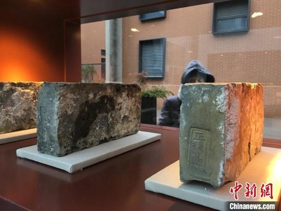 南京為「磚頭」設館:數十萬塊明城磚里挑「寶貝」