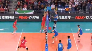 中国男排0∶3负于伊朗无缘东京奥运会