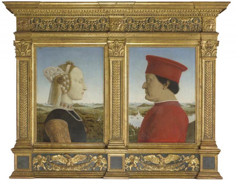 艺加之言/《乌尔比诺公爵夫妇双联画》/王 加