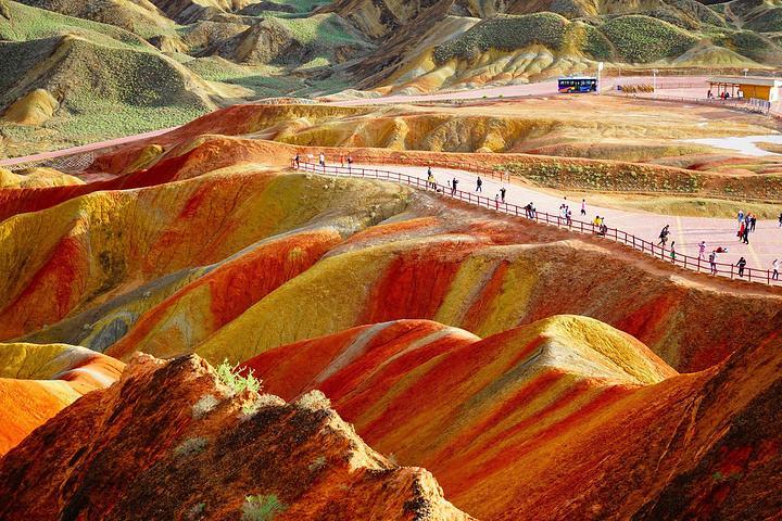 甘肅張掖七彩丹霞晉升國家5A級旅遊景區