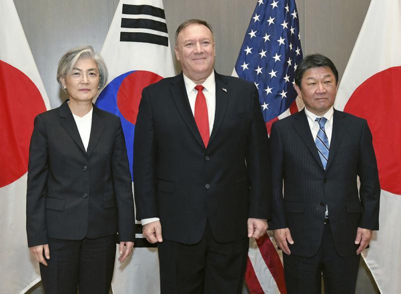 美日韩外长会 促朝重返弃核谈判桌