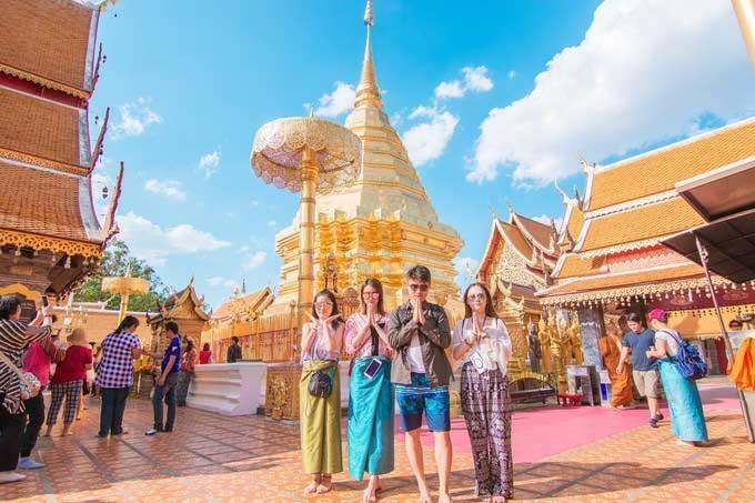 泰國旅遊局官員:中印遊客有望續享落地簽免費政策