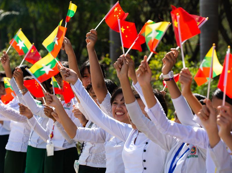 合拍纪录片缅语版内比都开播